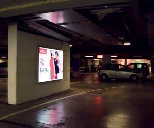 Pannellux a LED - parcheggio