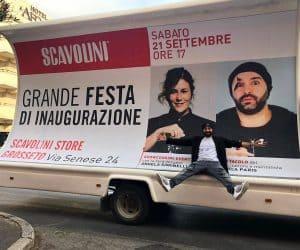 Vela Pubblicitaria con Andrea Paris / Scavolini Grosseto