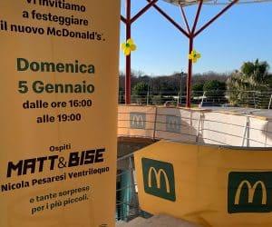 Inaugurazione McDonald's Roma